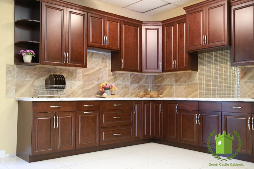 Kitchen cabinets green castle cabinets part 5 for Castle kitchen cabinets
